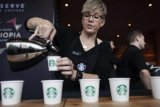 Starbucks banyak menutup kafe di AS, Kanada cegah penyebaran corona