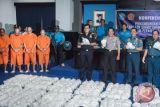 Polisi masih memburu pengendali dan penerima paket 1,6 ton shabu-shabu