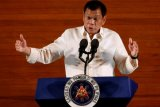 Presiden Filipina Duterte lagi-lagi mengancam akan bunuh pengedar narkoba