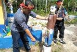 Tim investigasi DAD Kotim temukan kerusakan situs adat Dayak 'Sandung'