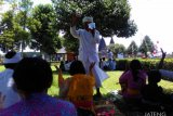 Ribuan umat Hindu ikuti Tawur Kesanga di Prambanan