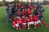 Timnas U-16 Indonesia juara turnamen Jenesys Jepang