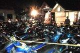 48 sepeda motor di arena judi dadu gurak disita Polisi