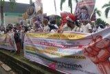 Pendapatan berkurang massa datangi DPRD Sumsel