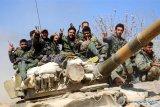 Militer Suriah kembali gempur Ghouta Timur