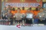 Polres Kulon Progo tangkap pengedar pil psikotropika