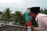 Selain di Padang, hilal juga tak terlihat di Pariaman (video)