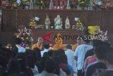 Umat Buddha Palembang rayakan Waisak menjunjung kebhinekaan