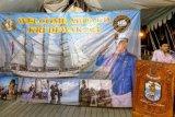 Gubernur Sulteng buka puasa di KRI Dewaruci