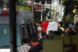 Pemakaman polisi korban kerusuhan