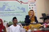 Shinta Nuriyah sahur bersama penyandang disabilitas