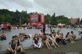 Penonton pilih saksikan di Fan Fest untuk rekreasi