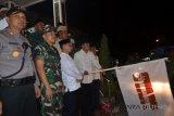 Puluhan mobil hias meriahkan pawai takbir akbar di Palu