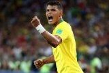 Thiago Silva bawa Brasil  ke 16 besar