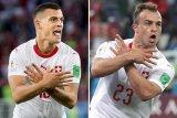 Etnis Albania Kosovo siap bayarkan denda Xhaka dan Shaqiri