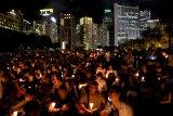 Hong Kong siap peringati tragedi Tiananmen dengan lilin di seluruh kota