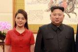 Setahun tidak tampil di depan umum, istri Kim Jong Un temani suami di acara konser