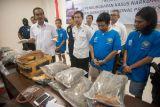 Penangkapan pengedar narkoba di Bali