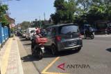 Kepadatan lalu lintas Kota Yogyakarta turun hingga 57 persen