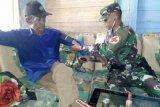 Satgas Yonif 501 Kostrad patroli kesehatan di Kampung Pitewi