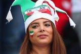Meski dilarang, wanita Iran tetap tonton Piala Dunia di Teheran