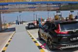 H-2 Lebaran, Jumlah kendaraan meningkat di Gerbang Tol Ngemplak