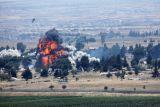 Israel serang beberapa pangkalan di seluruh negeri Suriah, dua tentara tewas