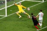 Raja gol dihadang tembok beton di laga Brasil kontra Belgia