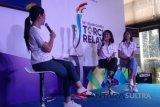 Dian Sastro dan Mikha Tambayong sudah bersiap bawa obor Asian Games