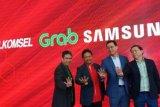 Telkomsel, Grab, Samsung, dan Erafone MoU agar Pengemudi Punya Nilai Tambah