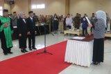 Pelantikan dua anggota DPRD Pengganti Antar Waktu di Fraksi PAN Kabupaten Gorontalo Utara