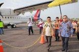 NAM AIR terbang perdana Balikpapan-Tanjung Selor