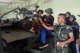 BUMN Hadir - Meriam kaliber 57 pukau peserta SMN Jatim