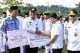 Dirut Pupuk Indonesia Serahkan Bantuan Sebatik