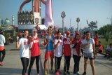 Komunitas pelari di Sampit ikut semarakkan Asian Games