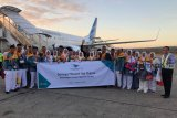108 jamaah calon haji diberangkatkan dari Kupang