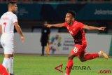 Irfan Jaya dan gol Internasional pertamanya