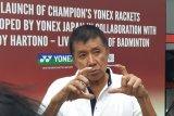 Legenda bulu tangkis Rudy Hartono bangga dengan keberhasilan Jonatan