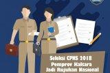 Seleksi CPNS 2018, Pemprov Kaltara jadi Rujukan Nasional