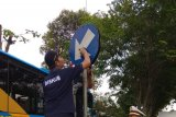 Memprihatinkan, vandalisme rambu lalu lintas di Yogyakarta masih marak