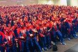 547 Cosplayer Spider-Man pecahkan rekor dunia di Stockholm