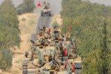 Turki kerahkan lebih banyak tank ke perbatasan Suriah