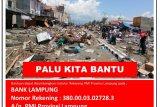 PMI Lampung buka rekening donasi korban gempa-tsunami
