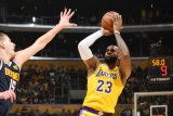 LeBron berjasa, LA Lakers kandaskan Nuggets
