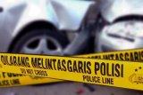 Kronologi tabrakan dua truk yang menewaskan pesepeda motor di Jambu