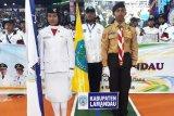 Kumpulkan 41 medali, Lamandau berada di urutan 10 besar Porprov Kalteng