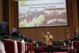 Mahasiswa baru UNP dapat motivasi dari Aqua Dwipayana