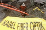 Telekomunikasi Sulbar lumpuh akibat kabel fiber optik terputus