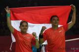 Indonesia mencapai final parabadminton keempat lewat Hary/Leani