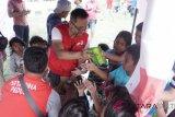 Posko layanan kesehatan pertamina di Palu-Donggala